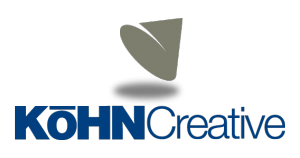 larger kohn creative color logo