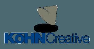 larger kohn creative color logo
