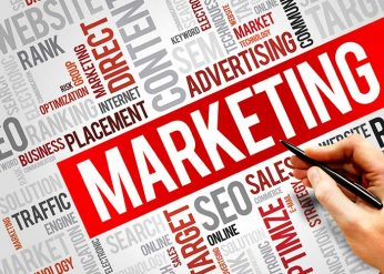 internet marketing & digital marketing word diagram