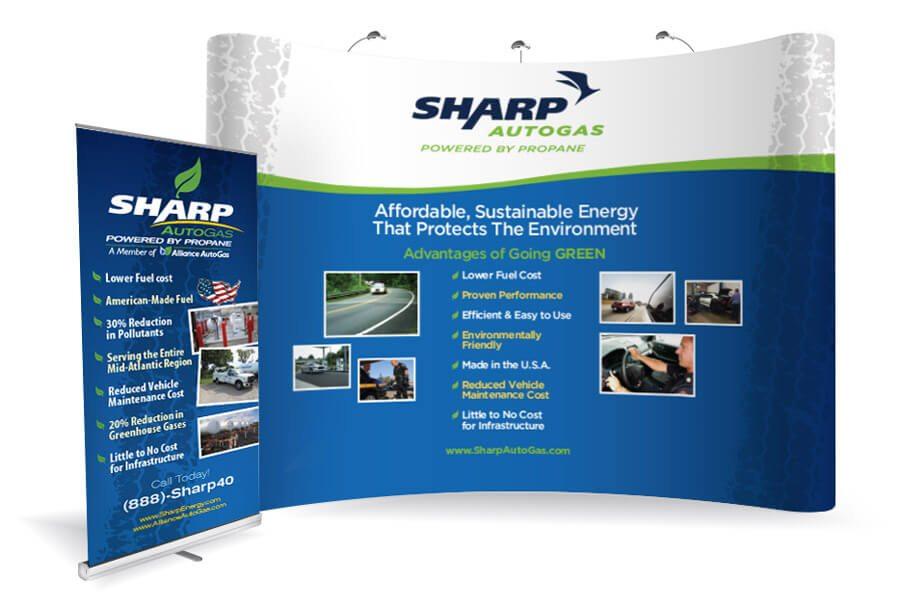 sharp autogas vendor display