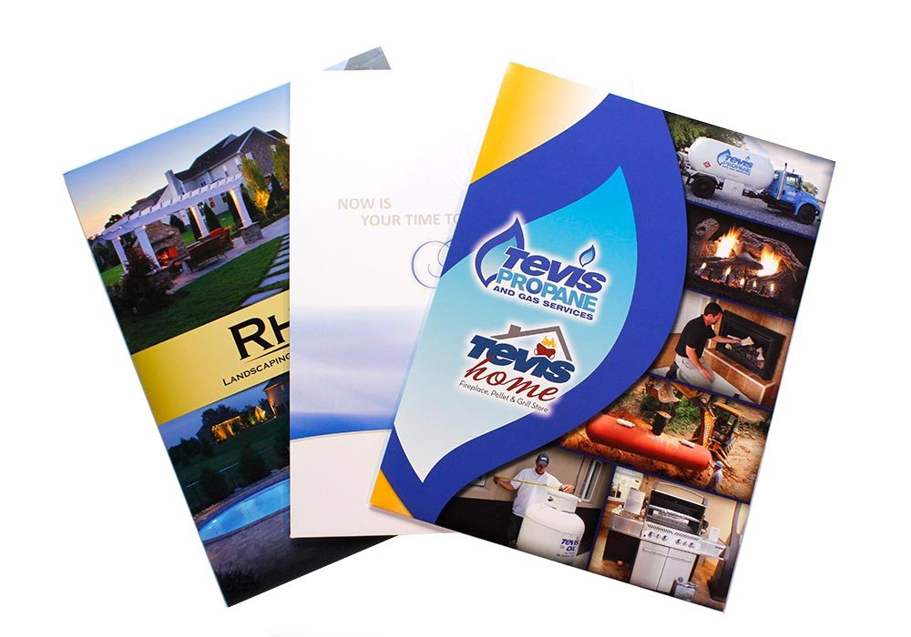 Graphic Design Folders | Tevis, CLV, and Rhine Landscaping