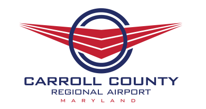 Carroll County Regional Airport | Maryland Logo Design