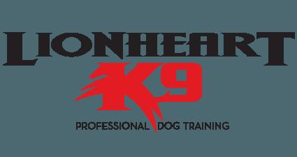 Lionheart k9 logo | Maryland Logo Design