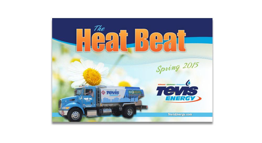 Tevis Energy Postcard Design